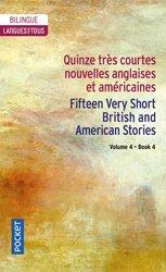 Dernières parutions sur Livres bilingues, Quinze très courtes nouvelles anglaises et américaines