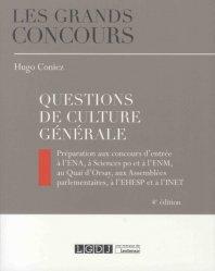 Dernières parutions dans Les grands concours, Questions de culture générale. 4e édition