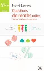 Dernières parutions dans Mémo, Questions de maths utiles
