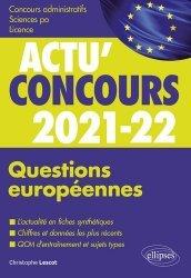 Dernières parutions sur Concours administratifs, Questions européennes