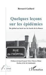 Dernières parutions dans Sciences et Société, Quelques leçons sur les épidémies