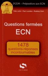 Souvent acheté avec Transversaux incontournables, le Questions fermées ECN