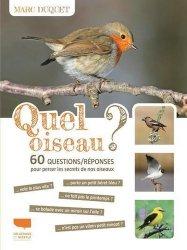 Dernières parutions sur Ornithologie, Quel oiseau