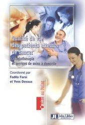 Souvent acheté avec Les biomédicaments, le Qualité de vie des patients atteints de cancer