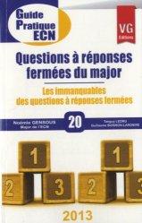 Souvent acheté avec Dossiers indifférenciés, le Questions à réponses fermées du major