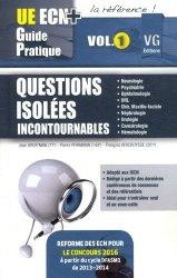 Souvent acheté avec L'ECN en 500 questions incontournables, le Questions isolées Incontournables Volume 1