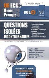 Souvent acheté avec Cardiologie, le Questions isolées Incontournables Volume  2