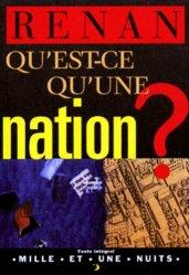 Dernières parutions dans La petite collection, Qu'est-ce qu'une nation ?
