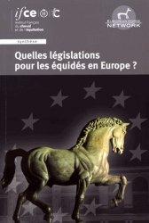 Dernières parutions sur Dressage, Quelles législations pour les équides en europe ?