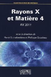 Dernières parutions sur Structures, Rayons X et Matière 4