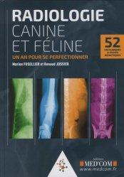 Nouvelle édition Radiologie canine et féline