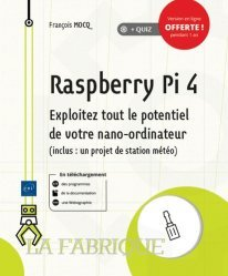Dernières parutions dans La fabrique, Raspberry Pi 4