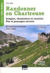 Dernières parutions dans Caline Sentiers, Randonner en Chartreuse