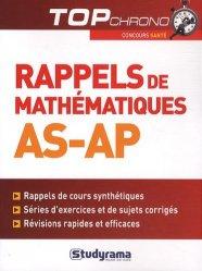 Dernières parutions dans Top chrono, Rappels de mathématiques AS-AP