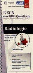 Souvent acheté avec L'ECN en +1000 questions, le Radiologie
