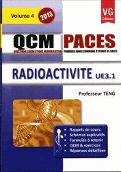 Dernières parutions dans QCM PACES, Radioactivité UE 3.1- Vol 4