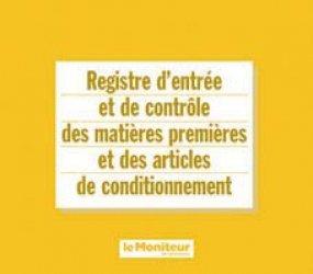 Souvent acheté avec Registre comptable des stupéfiants, le Registre d'entrée et de contrôle des matières premières et des articles de conditionnement