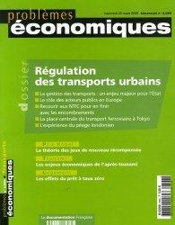 Dernières parutions dans Problèmes économiques, Régulation des transports urbains