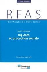 Dernières parutions sur Politiques sociales, Revue française des Affaires sociales N° 4/2017 : Protection sociale et big data