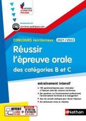 Dernières parutions dans Intégrer la fonction publique, Réussir l'épreuve orale des catégories B et C Concours territoriaux. Edition 2021-2022
