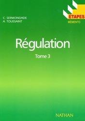 Souvent acheté avec Régulation Tome 2, le Régulation Tome 3