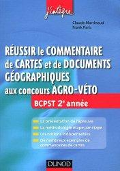 Souvent acheté avec Atlas de géologie-pétrographie, le Réussir le commentaire de cartes et documents géographiques aux concours Agro-Veto
