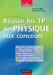 Souvent acheté avec Physique 2ème année PC PC*, le Réussir lesTP de Physique aux concours