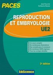 Souvent acheté avec Histologie UE2, le Reproduction et Embryologie
