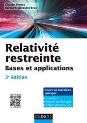 Dernières parutions sur Théorie de la relativité, Relativité restreinte - Bases et applications