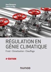 Dernières parutions dans Technique et ingénierie, Régulation en génie climatique