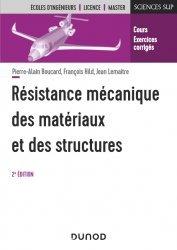 Dernières parutions sur Résistance des matériaux, Résistance mécanique des matériaux et des structures - 2e éd.