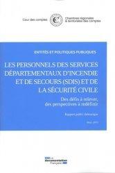 Dernières parutions dans Rapports officiels, Rémuneration et temps de travail des personnels de la sécurité civile