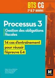 Dernières parutions sur BTS - DUT - IUT, Réussir l'épreuve - PROCESSUS 3 BTS CG 1re et 2e années