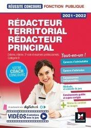Dernières parutions dans Réussite concours, Rédacteur territorial/Rédacteur principal