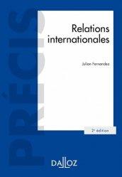 Dernières parutions dans Précis Dalloz, Relations internationales. 2e édition