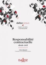 Dernières parutions sur Droit des obligations, Responsabilité contractuelle. Droit civil