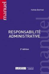Dernières parutions dans Manuels, Responsabilité administrative