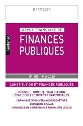 Dernières parutions sur Finances publiques, Revue française de finances publiques N° 150, mai 2020