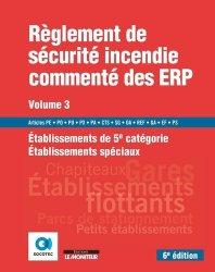 Dernières parutions dans Hors collection, Règlement de sécurité incendie commenté des ERP