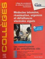 Dernières parutions sur Spécialités médicales, Référentiel Collège de Médecine Intensive, réanimation, urgences et défaillances viscérales aiguës