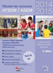 Souvent acheté avec ATSEM / ASEM Les nouveaux concours externe, interne et 3e voie, le Réussir les concours ATSEM / ASEM 2014-2015