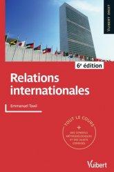 Dernières parutions dans Vuibert Droit, Relations internationales. 6e édition