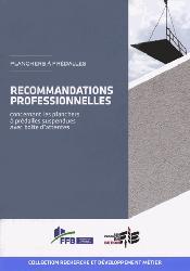 Dernières parutions dans Recherche développement métier, Recommandations professionnelles concernant les planchers à prédalles suspendues avec boîte d'attentes