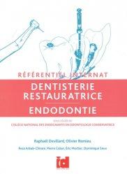 Dernières parutions sur Dentaire, Référentiel Internat Dentisterie Restauratrice - Endodontie