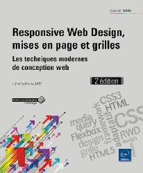 Dernières parutions dans Objectif Web, Responsive web design, mises en page et grilles