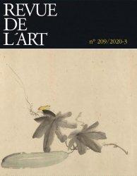Dernières parutions sur Monographies, Revue de l'art n°209/2020-3