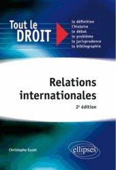 Dernières parutions dans Tout le droit, Relations internationales. 2e édition