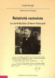Nouvelle édition Relativité restreinte