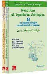 Dernières parutions sur Chimie générale, Réactions et équilibres chimiques (les 2 volumes)