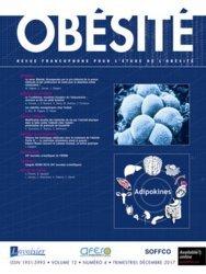 Dernières parutions sur Endocrinologie, Revue francophone pour l'étude de l'obésité N° 4 volume 12